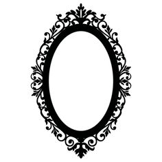 Oval Victorian Frame Clipart # ...