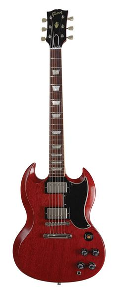 Gibson | SG 1st guitar I ever owned. This is a replacement I got at Manny's in NYC for the now unplayable '64 that I still have.