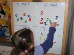 Sorting and Classifying; can do this on chalkboard too