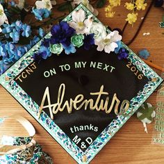 My decorated graduation cap! #gradcap