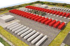 Infografía para la construcción de la Power Plant de HIMOINSA en Angola, por Arquitania Business