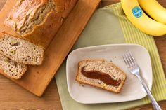 Chiquita banana bread is so delicious, you won't be able to shave it for later.