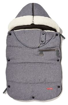 Skip Hop 'Stroll & Go Three Season' Hooded Windproof & Water Resistant Footmuff (Baby) available at #Nordstrom