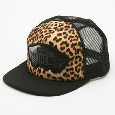 9a1be070397826  Vans Beach Girl Leopard Trucker Hat  zumiez Snapback Hats