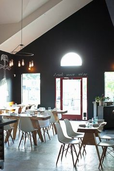 Eames/Matiazzi - all those beautiful pieces, plus amazing restaurant design can be found here.