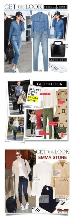 """""""Winners for Get the Look: Celebrity Airport Style"""" by polyvore ❤ liked on Polyvore featuring GALA, MANGO, Zara, adidas, celebairportstyle, Victoria's Secret, Jaeger, Diesel, H&M and Rebecca Minkoff"""