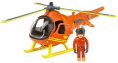 Fireman Sam - Mountain Rescue Helicopter with Tom by Born To Play -- Awesome products selected by Anna Churchill