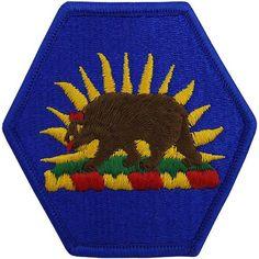 California National Guard Class A Patch