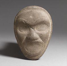 Head, 13th-15th centuryTaino culture,Puerto Rico  (via MET Museum)