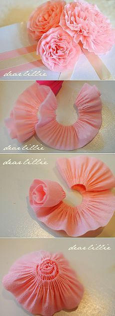 Пушистые цветы из ткани, мастер класс / Цветы из ткани своими руками и вязанные крючком. Заколки для волос / Ёжка - стихи, загадки, творчество и уроки рисования для детей