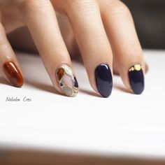 NailsalonCreis of nail design Perfect Nails, Gorgeous Nails, Stylish Nails, Trendy Nails, Nail Piercing, Japan Nail, Abstract Nail Art, Japanese Nail Art, Summer Acrylic Nails