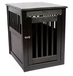 Amish Handcrafted Fortress End Table Pet Crates