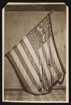 [Regimental flag of Pennsylvania Infantry Regiment] Civil War Flags, Union Flags, Civilization, Pennsylvania, Carte De Visite