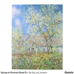 Spring at Giverny Monet Fine Art Jigsaw Puzzle