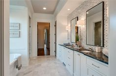 Master Bathroom. 130 Alton Road, $1,795,000,  Contact Starling Davis of Fridrich and Clark at (615) 327-4800. #Nashville #BelleMeade #ForSale #Listing