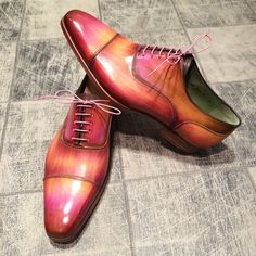 These Parisian handmade mensstyle #shoes is something we can't take our eyes off! We are equally devoted to leather. Explore our collection of exotic shoes @mensdesignersho