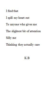 Exactly ,there's no one here who cares