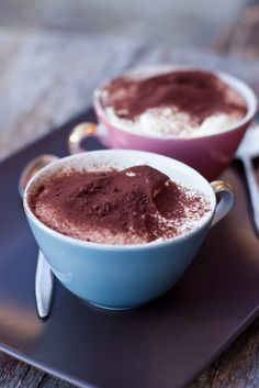 My tiramisu - the blogger's family recipe - and it's a good one!  l can't wait to try it!