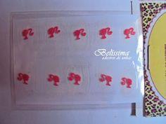 Adesivos para Unhas - Belíssima: Adesivo de unha para criança