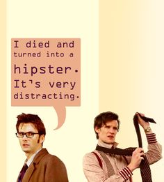 This sums up why I stopped watching after the 10th doctor regenerated into the 11th.
