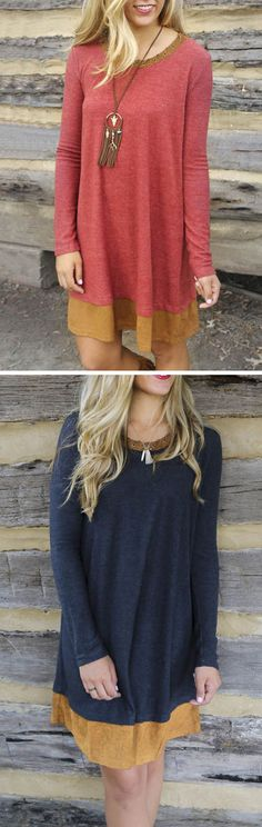 Ready for a stunning dress? Shop this look and hundreds of other stylish dresses at OASAP.com. All the latest trends for a fraction of the cost. Click the image to shop this dress for only $14.99!