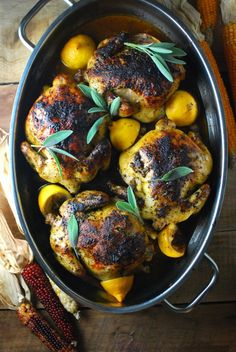 Christmas recipes: Cornish hens