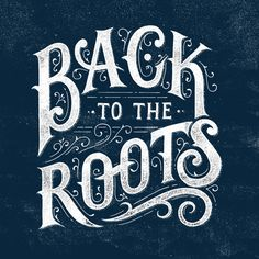 Letterings II by Tobias Saul, via Behance