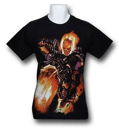 Images of Ghost Rider Fire Freak T-Shirt
