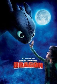 High resolution official theatrical movie poster ( of for How to Train Your Dragon Image dimensions: 1290 x Starring Jay Baruchel, Gerard Butler, Craig Ferguson, America Ferrera Bon Film, Film D'animation, Film Serie, Jay Baruchel, America Ferrera, Hiccup And Toothless, Httyd, Toothless Dragon, Dreamworks Movies