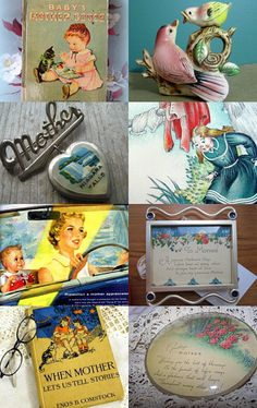 Vintage Mother's Day --Pinned with TreasuryPin.com