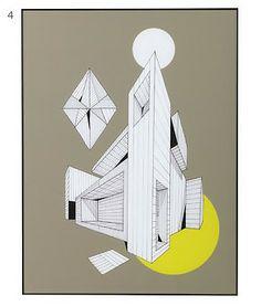 geometric modern art