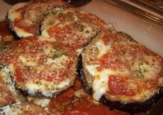 Perfect Eggplant Parmesan Recipe(minus the Parmesan and substitute the panko for almond flour)