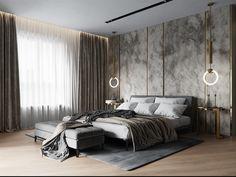 Luxury Bedroom Design, Home Room Design, Master Bedroom Design, Home Decor Bedroom, Modern Bedroom, Interior Design, Master Room, Luxurious Bedrooms, Behance
