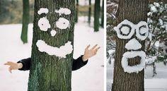 Sněhové malování