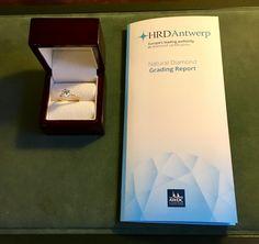 Solitair ring 1.72ct. 18K geelgouden solitair ring gezet met een briljant geslepen diamant van 1.72ct, kleur J & helderheid P1. Diamant is gezet in een 6-poots draadchaton. #ring #rings | ringen | gouden ring | golden rings | golden rings design | vintage rings | trouw ring | trouw ringen goud | verlovingsring goud | sieraden amsterdam | #spiegelgrachtjuweliers SpiegelgrachtJuweliers.com Vintage Gold Rings, Vintage Jewelry, Pick One, Natural Diamonds, Amsterdam, Cards Against Humanity, Jewels, Collection, Design