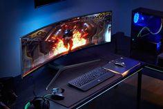 Samsung CHG90 QLED Ultra-Wide Gaming Monitor