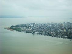 Vista da penisula, extremo sul de Belém.  Foto Lucas M2 do Flickr.