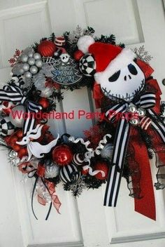The nightmare before christmas ornaments by holyshiiititsash halloween nightmare before christmas wreath of jack skellington that you can use for your halloween decor by dolores solutioingenieria Choice Image