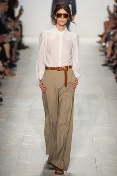 Michael Kors Spring 2014. Being classic isn't as easy as it looks.