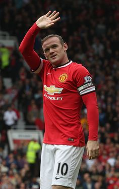 At the start of the the 2014/15 season Wayne Rooney was appointed captain of @manutd by manager Louis van Gaal.
