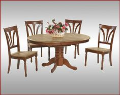 Winners Only Dinette Set In Fruitwood WO 54257Fs By 83300 Farmhouse Dining Table