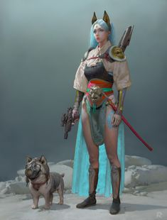 ArtStation - Happy new yeah TangMengLing, Ruan Jia