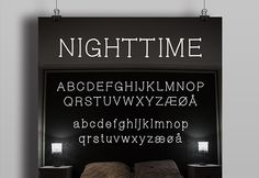 Nighttime is a fresh and funny handwritten free font. Imagined and designed by Bettina Wolmersen.