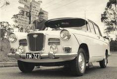 Check out Baznbarb's Platinum 1964 Wolseley 4 Speed Manual Sedan; Classic Trucks, Classic Cars, Australian Cars, Cars Uk, Dream Garage, Old Cars, Jaguar, Antique Cars, Automobile