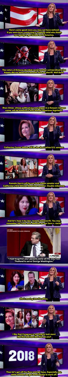 "Samantha Bee offers an empowering message for all the ""nasty women"" out there after Trump's win"