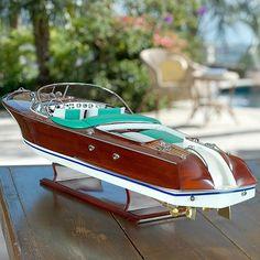 Riva Aquarama Model Boat Décor.