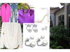 The final say in fashion jewelry. Palm Beach, Fashion Jewelry, Fashion Outfits, Tote Bag, Polyvore, Bags, Style, Bonbon, Handbags