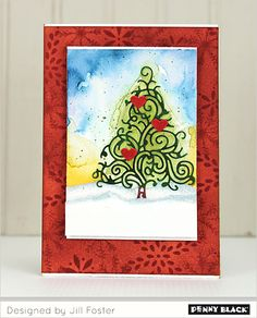 Introducing Penny Black's newest collection of stamps and Creative Dies, Winter Wonderland--GIVEAWAY within blog post