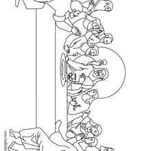 the last supper coloring page coloring page holiday coloring pages easter coloring pages