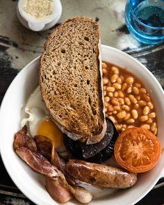 English Breakfast #Mashpotato